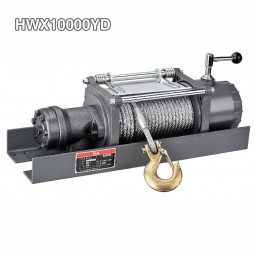 Full Steel Gear Hydraulic Car Trailer Winch 10000 Lbs Meet Meets SAEJ706 and CE standars