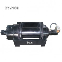 10 Ton Hydraulic Winch for small tow truck or trailer with pneumatic clutch