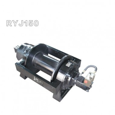 15 ton hydraulic winch with multidisc-typed friction normally-closed arrester