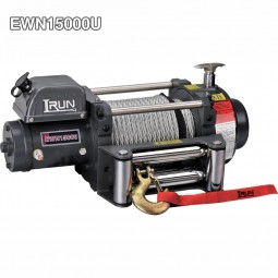 Electric Offroad Heavy Duty Winches 15000 Lb With Patent Design Tree Stage Planetary Gear Reducer