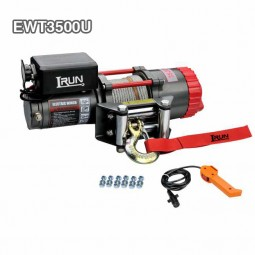Poweful Electric UTV Winch 3500 Lbs